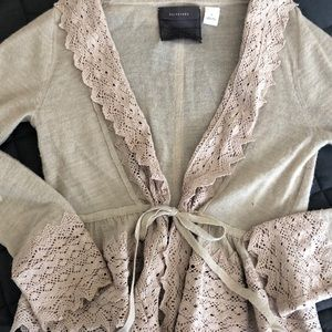 Guinevere sweater from Anthropologie
